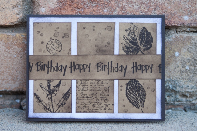 happy birthday masculine card life crafting and teaching