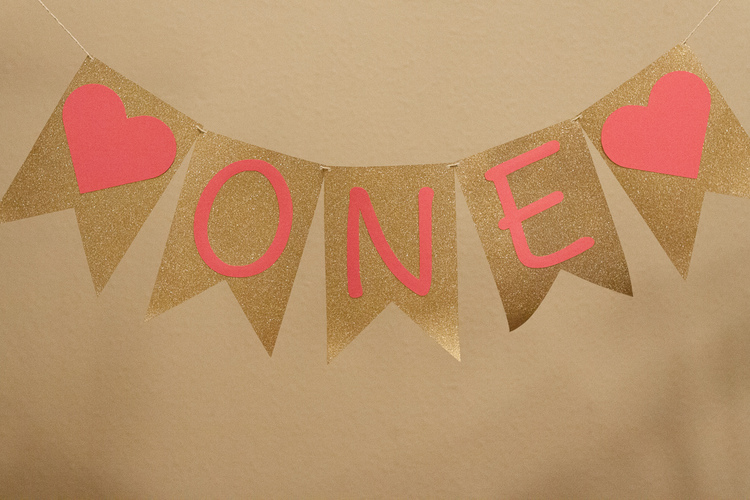 Pink and Gold Birthday Decorations